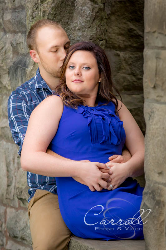 Ralph & Nicole's Engagement Photography at Squires Castle - Willoughby Hills, Ohio by Youngstown Wedding photographers Carroll Photo and Video