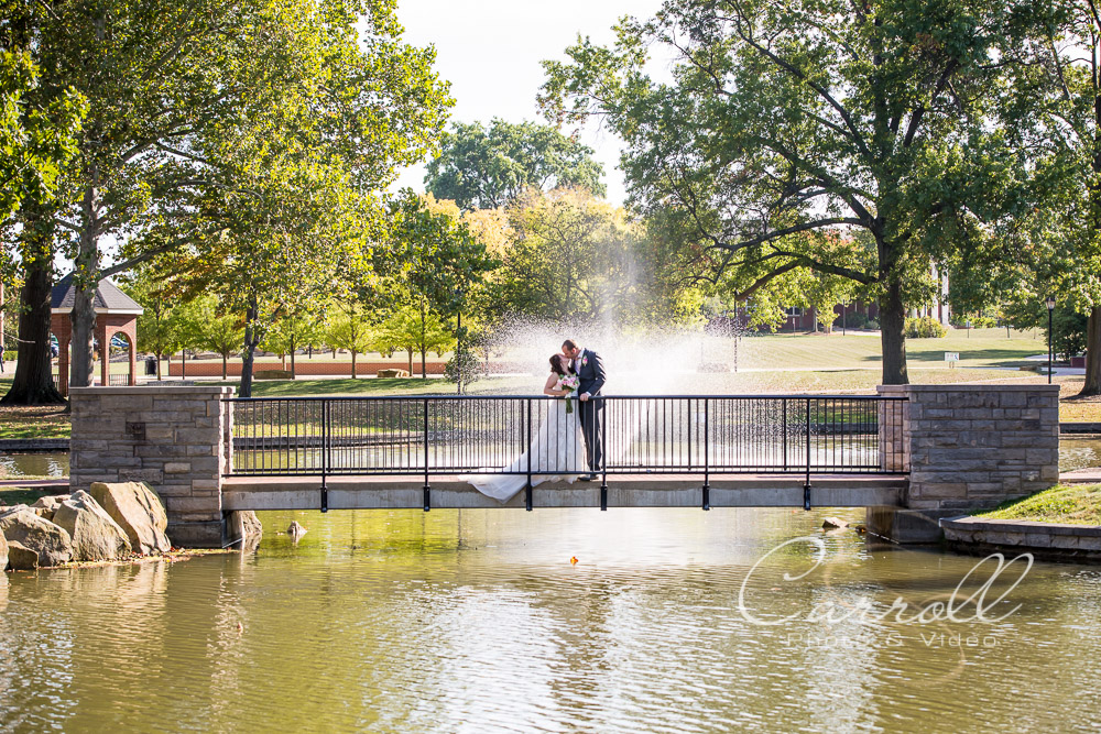 Beautiful wedding Pictures in Alliance Ohio at Glamorgan Castle and Mount Union College by Alliance Ohio Wedding Photographer Carroll Photo & Video
