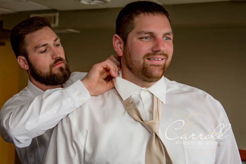 Elyse & Aaron Wedding- The Overlook Grill- Kent Wedding Photographers -Carroll Photo and Video- Youngstown Wedding Photography