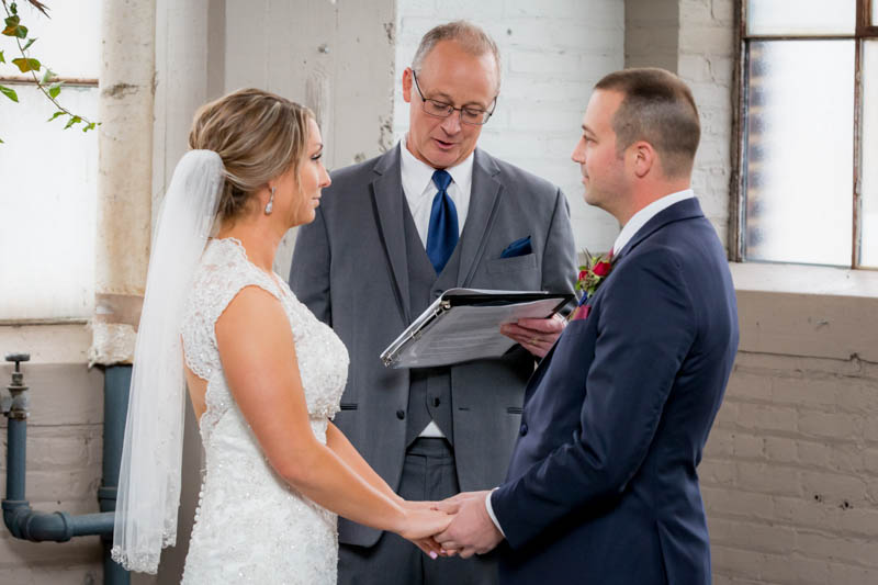 Wedding in Lakewood Ohio at The Screw Factory also known as The Lake Erie Building. The Best Cleveland Wedding Photography by Carroll Photo & Video